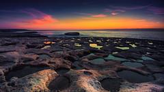 Sardinia Blue Hour (piercarlobacchiphotography) Tags: bluehour sardinia seascape santacaterinadipittinuri sea rocks sky sunset italy nikond750 nikonafs1635mmf4gedvr longexposure leefilters zeisspolarizingfilters nature ndfilters marine