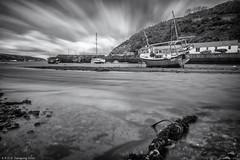 Time and Tide Waits For No One Mono (K_D_B 2 Million views. Thanks) Tags: lowertown fishguard cwm rivergwaun boat quay mono bw blackwhite kdb