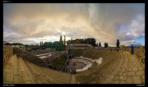 Amphitheater - Pompeii