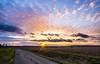 Coucher de soleil sur la campagne sarthoise (SylvainB_) Tags: soleil sunset landscape paysage nature sarthe france nuage cloud campagne country route road lumière