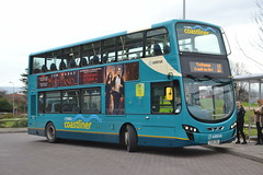 Arriva Cyrmu 4486 CX61CDU (Will Swain) Tags: chester 10th december 2016 cheshire north west south county bus buses transport travel uk britain vehicle vehicles country england english arriva cyrmu 4486 cx61cdu