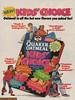Kids Choice Oatmeal (yarbertown) Tags: advertising retroads vintageads quakeroatmeal kidschoiceoatmeal 90s 90sads