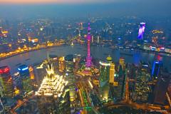 Shanghai  night view (koshichiba) Tags: shanghai asia night observatory chaina rx100m3 sony swfc hils moribuilding