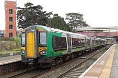 172221 Class 172 Turbostar DMU (Roger Wasley) Tags: 172221 class 172 turbostar dmu diesel multiple unit london midland railway lmr malvern link station whitlocks end great worcestershire railways