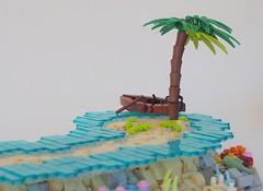 TT:R2: On Coral Sandbar (W. Navarre) Tags: coral sand bar sandbar sandbank island islet parley rock reef water sea ocean