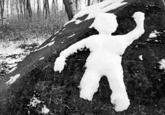 Hi Man (Rosmarie Voegtli) Tags: schneemann bonhomme winter dornach hiver inverno hiking odc tgif ourdailychallenge