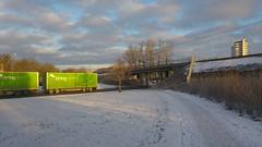 My hometown Eskilstuna (Unmarriedswede) Tags: my hometown eskilstuna hospital railroad bridge