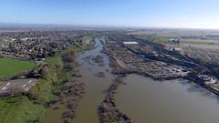 Waterford (FISH-BIO) Tags: wateford tuolumne river tuolumneriver townofwaterford drone photo
