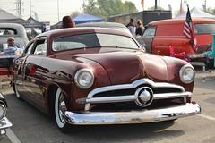 Moonyes X-Mas Party 2016 (USautos98) Tags: 1949 ford shoebox traditionalhotrod streetrod kustom scalloppaint