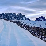 Morning blues in the Swiss Alps thumbnail