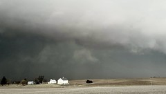 too close for comfort... (BillsExplorations) Tags: storm severeweather tornado thunderstorm stormfront illinois tornadooutbreak bad stormscape clouds sky weather rain hail illinoistornados