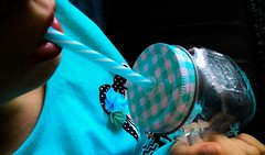 Lollipop.... (Isa****) Tags: lollipop tasse paille mug bleu blue fillette girl