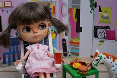 Blythe a Day 18 August 2015 -  I'm Hungry