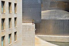 Mirador (1) - Guggenheim - Bilbao (G.hostbuster (Gigi)) Tags: people museum architecture bilbao guggenheim mirador ghostbuster gigi49