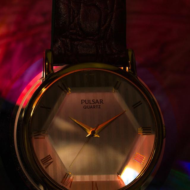 vintage watches time watch style collection timepiece sample wristwatch quartz pulsar