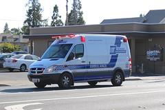 Sonoma Life Support (So Cal Metro) Tags: rescue sonoma ambulance dodge leader van santarosa paramedic ems emt amr sprinter americanmedicalresponse sonomalifesupport leaderambulance