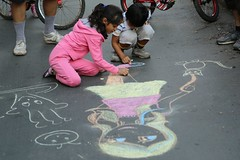Childhood revived. (Rahul Gaywala) Tags: street festival kids children child candid uturn surat
