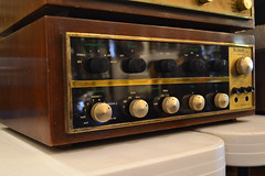"""MCINTOSH C-20 STEREO COMPENSATOR INTEGRATED TUBE AMPLIFIER. • <a style=""""font-size:0.8em;"""" href=""""http://www.flickr.com/photos/51721355@N02/21419688974/"""" target=""""_blank"""">View on Flickr</a>"""