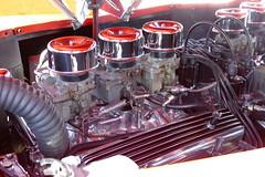 1946 Ford POWER (bballchico) Tags: engine 1946 ford sedan arlingtoncarshow 206 washingtonstate arlingtonwashington
