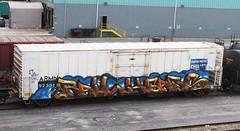 railheads (timetomakethepasta) Tags: up train graffiti pacific union express freight reefer chasm chilled armn railheads