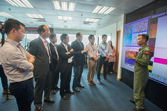 Visit of Panel to the Government Flying Service (2015.10.07) (www.legco.gov.hk) Tags: hanger gfs governmentflyingservice      honchungkwokpan   honkwokwaikeung   honipkwokhim drhonlamtaifai honchanchichuen  honmafungkwok honyiusiwing
