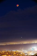 DSC04966 (mingzkl) Tags: sanfrancisco eclipse twinpeaks nightscene chinesemoonfestival bloodymoon leicaelmar135mmf4 sonya7r