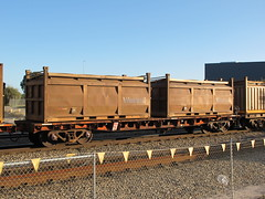 AQRY 1001 U P2 with COR 5735 F and COR 5868 R Forrestfield WA 20.09.2015. (dvdlcs) Tags: cor westrail forrestfield wasalt aqry
