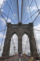 Brooklyn Bridge VI (Olivier So) Tags: nyc bridge usa ny newyork brooklyn clouds manhattan brooklynbridge