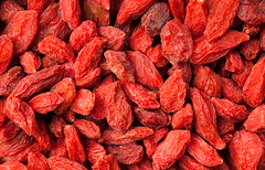 Goji berries (James Fielding) Tags: china red italy plant fruit youth effects foods vegan juicy healthy berry berries natural acid farming dry tibet system mongolia health snack ingredients vegetarian medicine longevity feed dried care healing flu radicals alternative vitamins eternal ingredient remedies goji therapeutic immune qualities ascorbic beneficial lycium energizing barbarum polysaccharides cuncooked