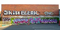 (gordon gekkoh) Tags: graffiti losangeles skin blah l bleak hcm nr d30 dwc enron thr begr wge