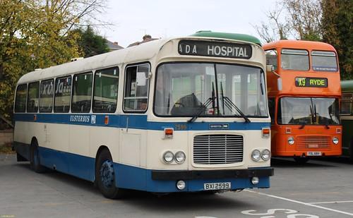 Alexander Belfast Bristol RELL6G BXI2599 at IOW Bus Museum 18 October 2015