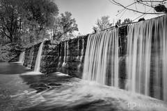 Falls of Rough Mill Dam 2015 (AP Imagery) Tags: ky kentucky abandoned blackandwhite dam decay fallsofrough forgotten greenfarm historic mill monochrome old resort roughriver rural ruraldecay waterfall willis usa