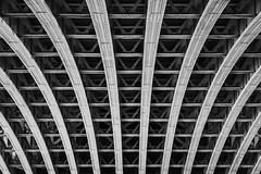 blackfriars bridge (Dr Kippy) Tags: bridge blackandwhite bw ironwork blackfriarsbridge ef50mmf18 ef50mm18 canon7d