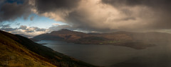 Ben Lomond (GenerationX) Tags: trees sky panorama mountains water rain weather landscape scotland unitedkingdom scottish neil gb loch benlomond trossachs lochlomond barr westhighlandway luss rowardennan a82 inverbeg beinndubh ptarmiganridge canon6d