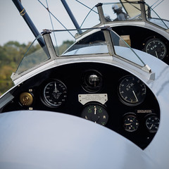 Hawker Tomtit Up Close - Old Warden (davepickettphotographer) Tags: park uk closeup october beds aircraft aviation bedfordshire airshow trust gb hawker airmuseum biggleswade tomtit uncovered shuttleworthcollection oldwarden collectionairshow