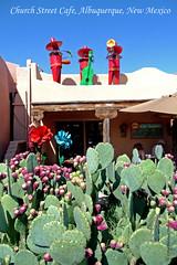 Old Town Albuquerque, NM (walla2chick) Tags: cactus fruit utah cafe band albuquerque oldtown sculptures churchst churchstcafe p0088