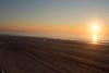 Sunrise 12/6/15 (Vicki from Yaphank) Tags: ocean sky sun ny beach sunrise fence bay longisland boardwalk pinksky fireisland southshore naturalframe noclouds beachsunrise barrierbeach sunchaser smithspoint