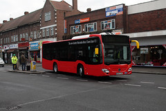 London United, MCS1, BU13ZVE (Jack Marian) Tags: bus london buses mercedesbenz hounslow av demonstrator londonunited citaro mcs1 route110 citarok route203 hounslowbusstation bu13zve