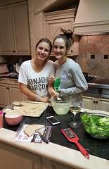 Anna & Rachael in 'Auntie Laura's cooking school'