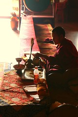 Boudhanath, Nepal (jafsegal (Thanks for the 3.5 million views)) Tags: ngc instantfave nepal buddhism prayer monk temple silence religion monje budismo templo oración kathmandú silencio people sit sitting seated