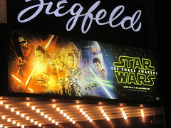 Star Wars The Force Awakens Ziegfeld Theater 4956 (Brechtbug) Tags: above street new york city nyc light film wet rain wall movie poster lite marquee star 3d opera theater force space entrance 7 billboard adventure sidewalk cast seven darth r2d2 future saber lightsaber wars vader 7th mythology android futuristic droid 6th c3po between myths ziegfeld avenues droids the 54th sized threepio awakens