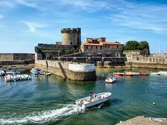 El fuerte de Sokoa, Ciboure, Aquitania.