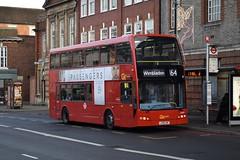 Go-Ahead London subsidiary London General Optare Olympus bodied Alexander Dennis Enviro400 (DOE5 - LX58 CWT) 164 (London Bus Breh) Tags: goahead goaheadgroup goaheadlondon londongeneral optare optareolympus alexander dennis alexanderdennis alexanderdennislimited adl alexanderdennisenviro400 enviro400 e400 doe doe5 lx58cwt 58reg london buses londonbuses bus londonbusesroute164 route164 sutton suttonpostoffice groveroad tfl transportforlondon