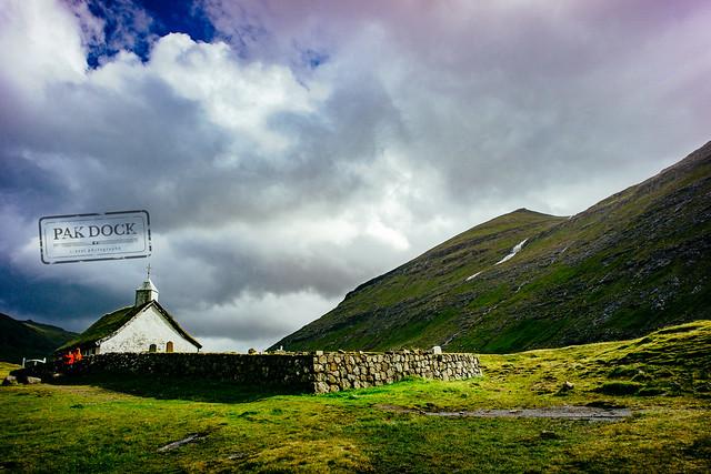 The church in Saksun - Faroe Islands