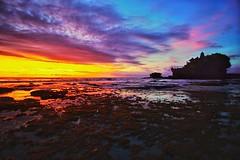 Yin Yang (troyezekielazazaelvizier) Tags: heavenonearth traveller serenity peace ocean yinyang romance sunset tanahlot bali