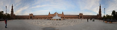 Plaza de Espana_Panorama1 (rschnaible) Tags: spain espana europe sightseeing tour tourist building architecture old history historic sevilla plaza de government