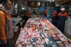 Fresh fish (Dominic Sagar) Tags: 2016 fujifilm japan t050 t100 t200 tsujiki xt1 fish market stalls chūōku tōkyōto jp
