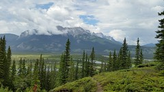 The Beauty That Is Jasper National Park (Patricia Henschen) Tags: jaspernationalpark jasper alberta canada canadian rockies mountains northern rocky transcanadahighway muskeg pocahontas trail upperloop mine pathscaminhos athabasca river clouds