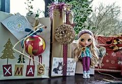 Türchen Nr. 15 mit Katinka 🎁- Geschenke sind eingepackt.Doors No. 15 with Katinka 🎁 gifts are packed