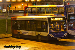 Stagecoach 36143 SF10BZV (barry.young10) Tags: e200 36143 sf10bzv stagecoach west western scotland kilmarnock bus station
